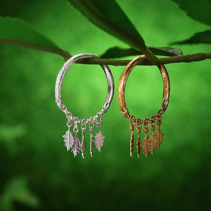 Leaf Cottagecore Ring - Kristiina