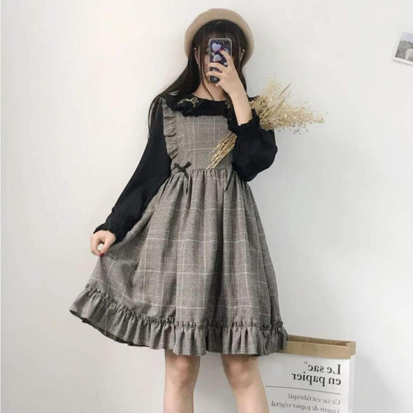 Light Academia Cottagecore Dress - Koizumi