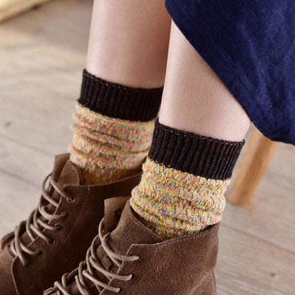 Linen Cottagecore Socks - Maie