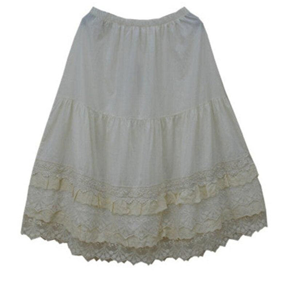 Lolita Cottagecore Skirt - Heather