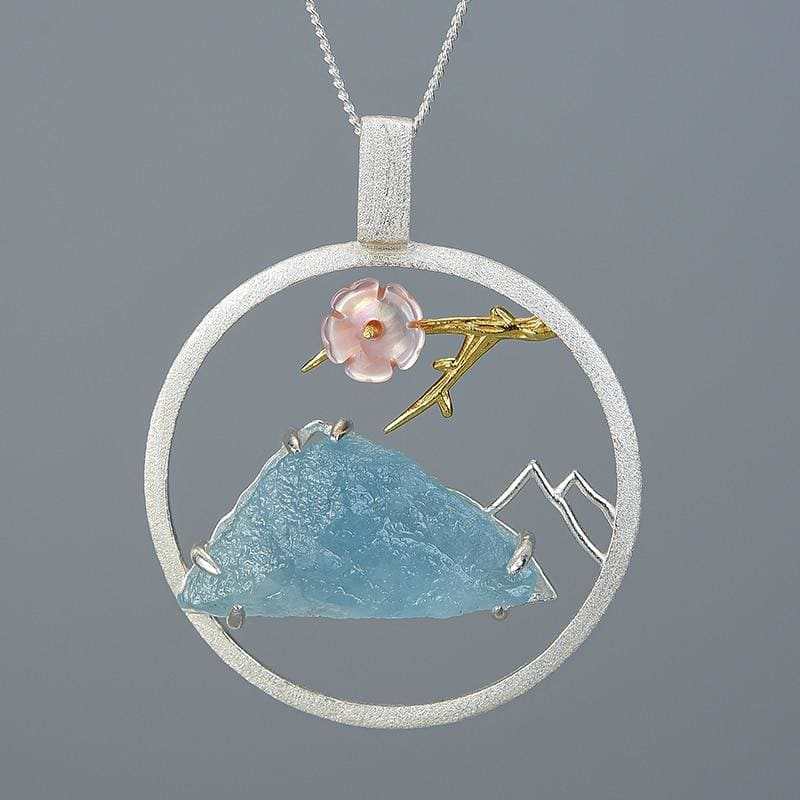 Mountains Cottagecore Pendant - Tatiana
