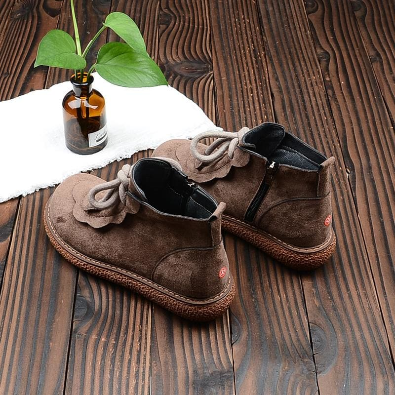 Organic Cotton Cottagecore Shoes - Lisa