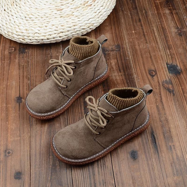 Organic Cotton Cottagecore Shoes - Regina
