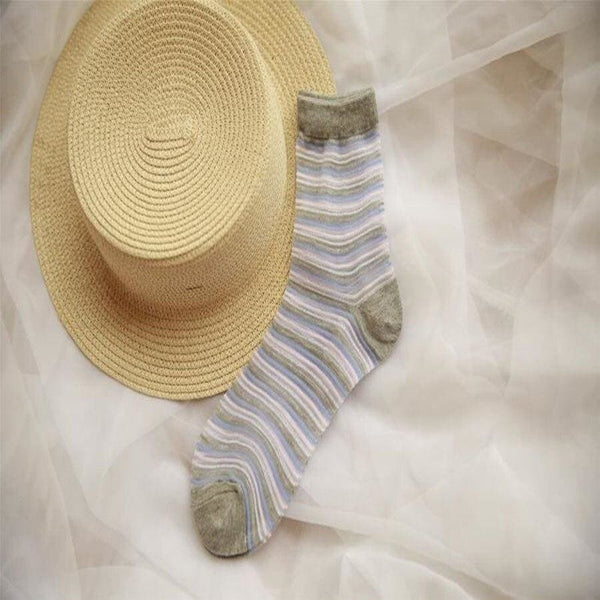 Organic Cotton Cottagecore Socks - Katrin