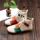Patchwork Cottagecore Shoes - Renee
