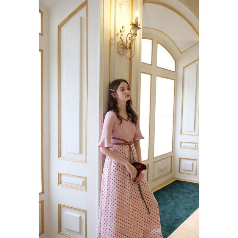 Pink Cottagecore Dress - Watanabe