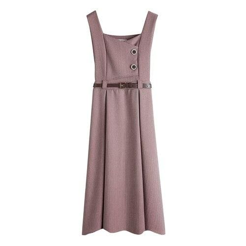 Pink Cottagecore Dress - Yumi
