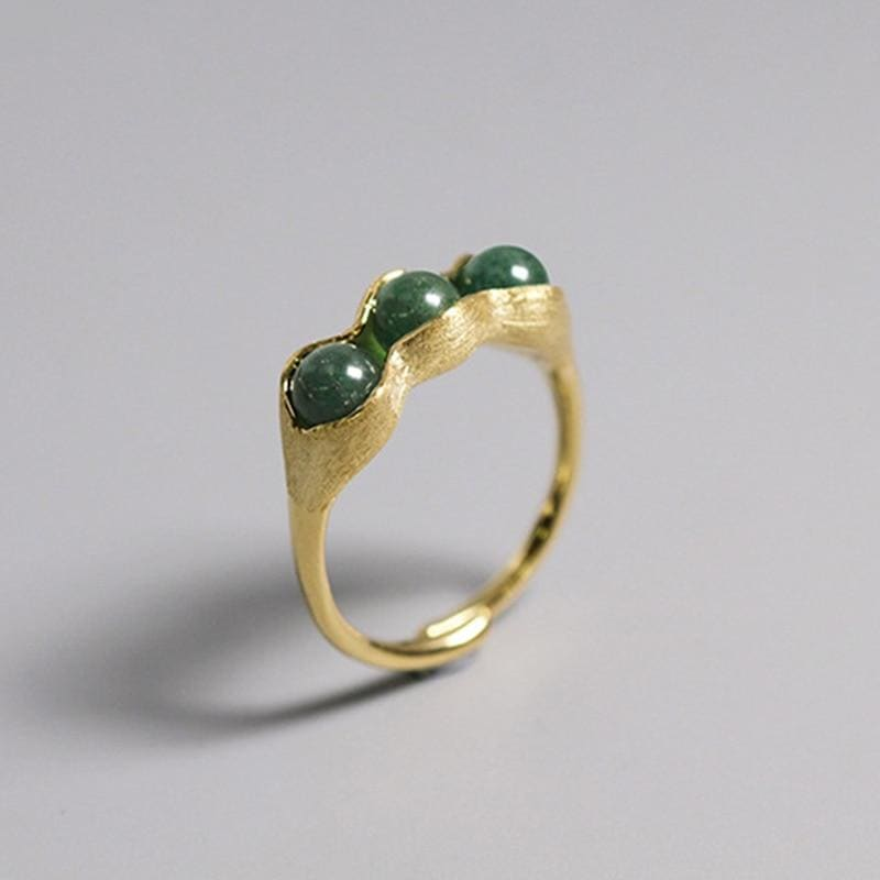 Plant Cottagecore Ring - Hanako