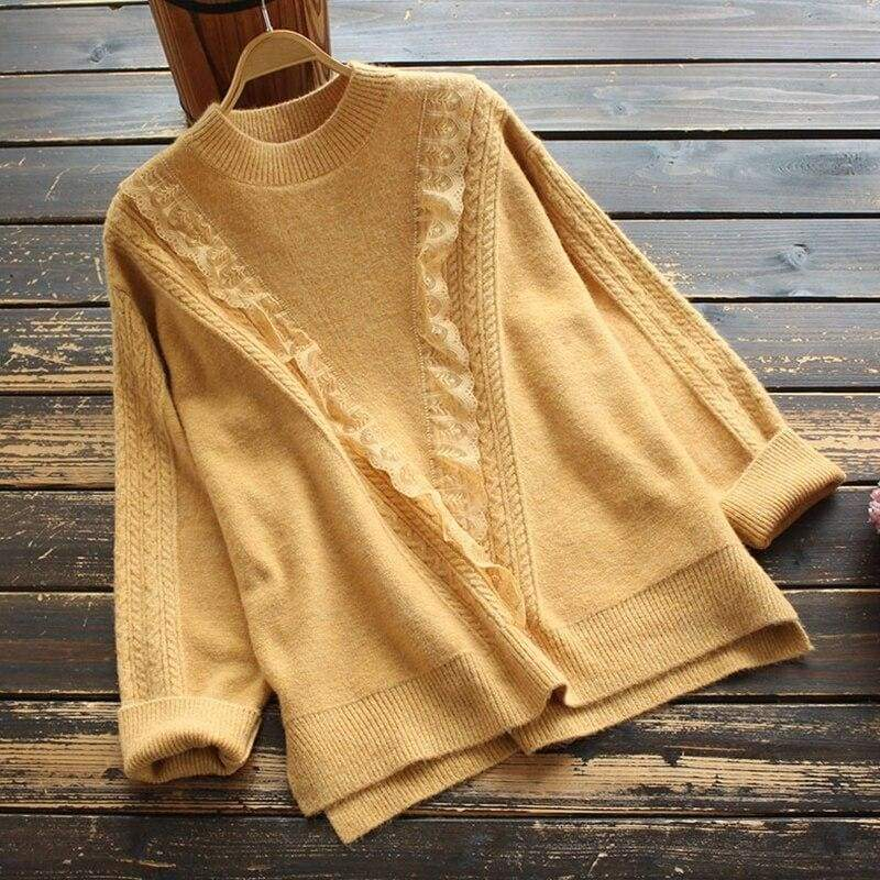 Vintage Cottagecore Sweater - Jekaterina