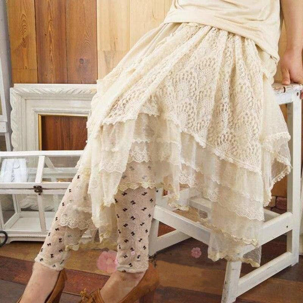 Voile Cottagecore Skirt - Madeline