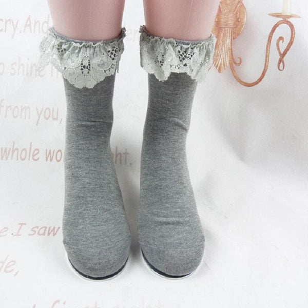 Winter Cottagecore Socks - Yoko