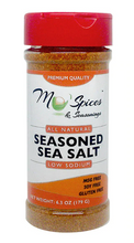 Load image into Gallery viewer, Mo'Spices Low Sodium Seasoned Sea Salt
