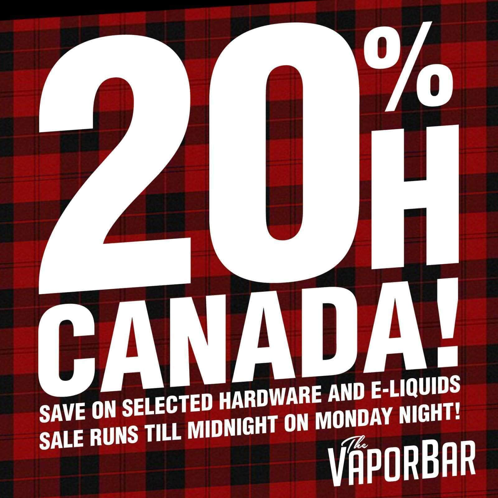 OH CANADA! WEEKEND SALE!