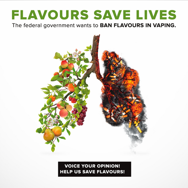 FLAVOURS SAVE LIVES!