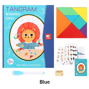 Jigsaw Tangram Game