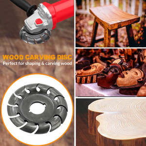 Powerful 12-Teeth Wood Carving Disc Carving Disc
