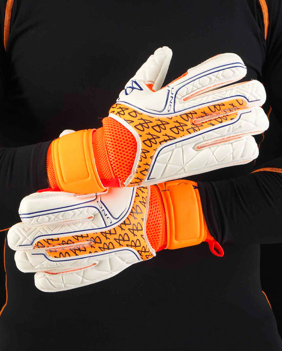 AB1 Junior Impact UNO Roll Finger Protect  Goalkeeper Gloves