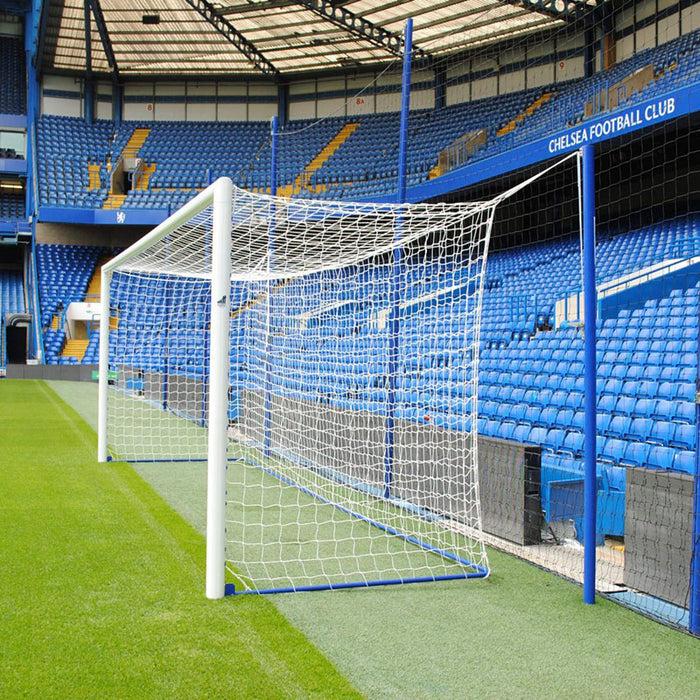 Pro Stadium 24×8 Box Football Goal Package: 11-A-Side Socketed Aluminium