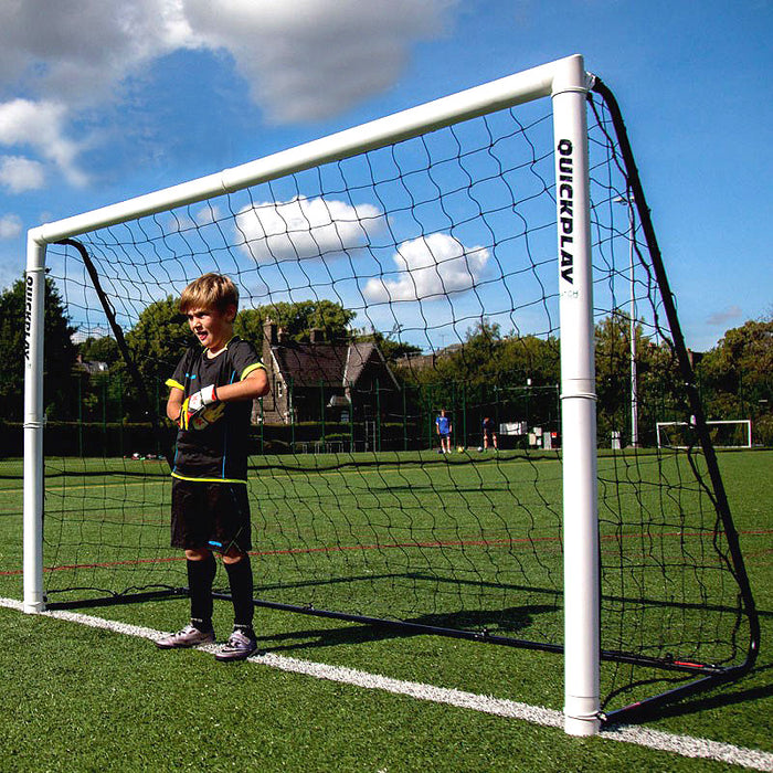QuickPlay Folding Match Football Goal 8 x 5