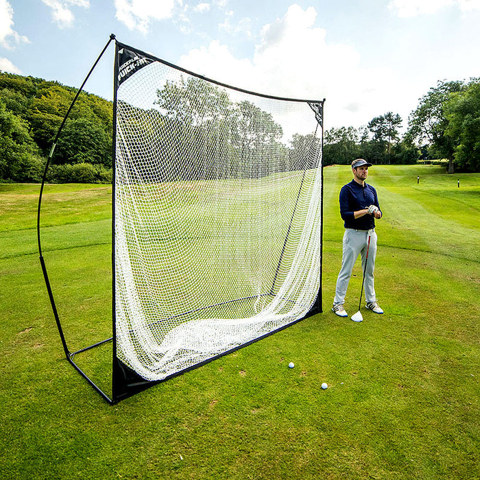 QuickPlay Quick Hit Multi Sport Football / Golf / Cricket Net 10 x 7