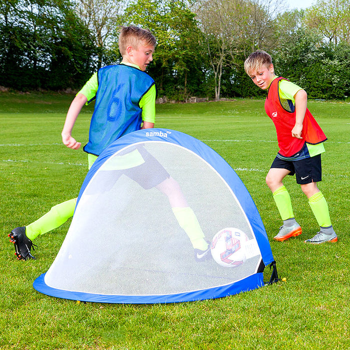 Samba Pop Up Goal 6ft Square (Pair)