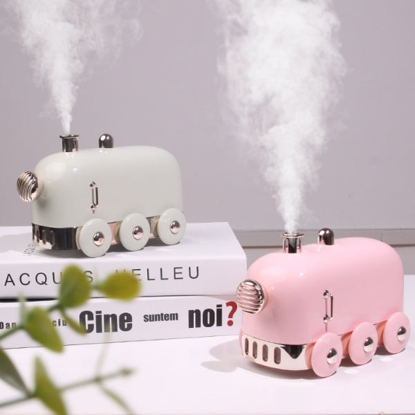 humidificateur d air en forme de jouet et locomotives