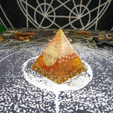 Orgonite Pyramide Or