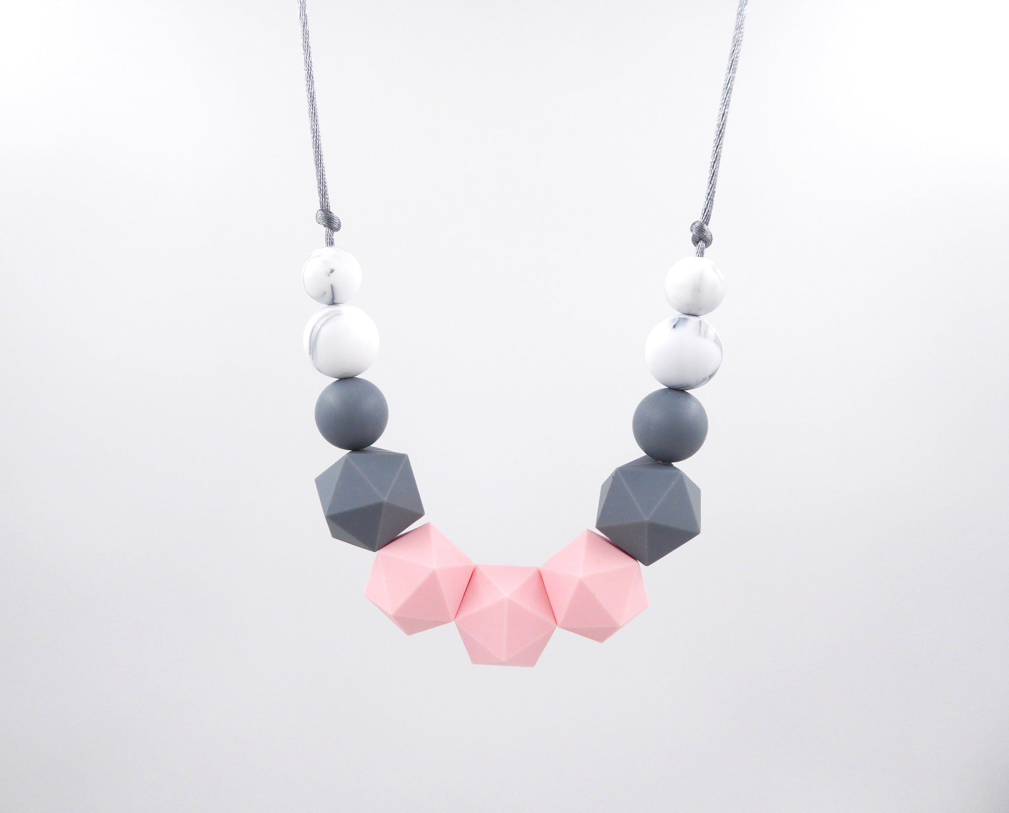 Silicone teething necklace Breastfeeding Nursing necklace