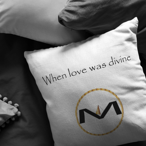 """When love was divine"" MOLIAE Pillows"