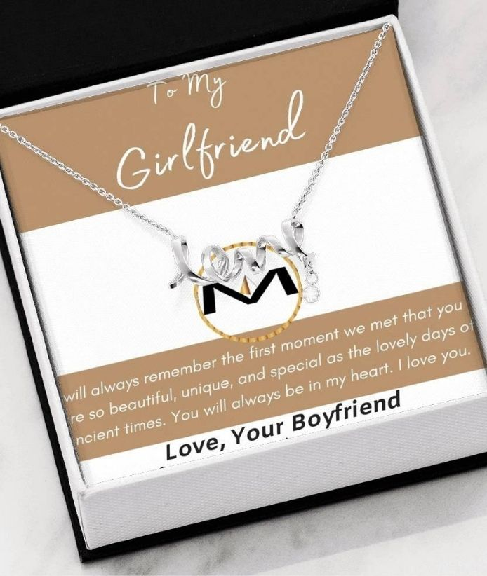 """I Will Always love You"" MOLIAE Necklace"