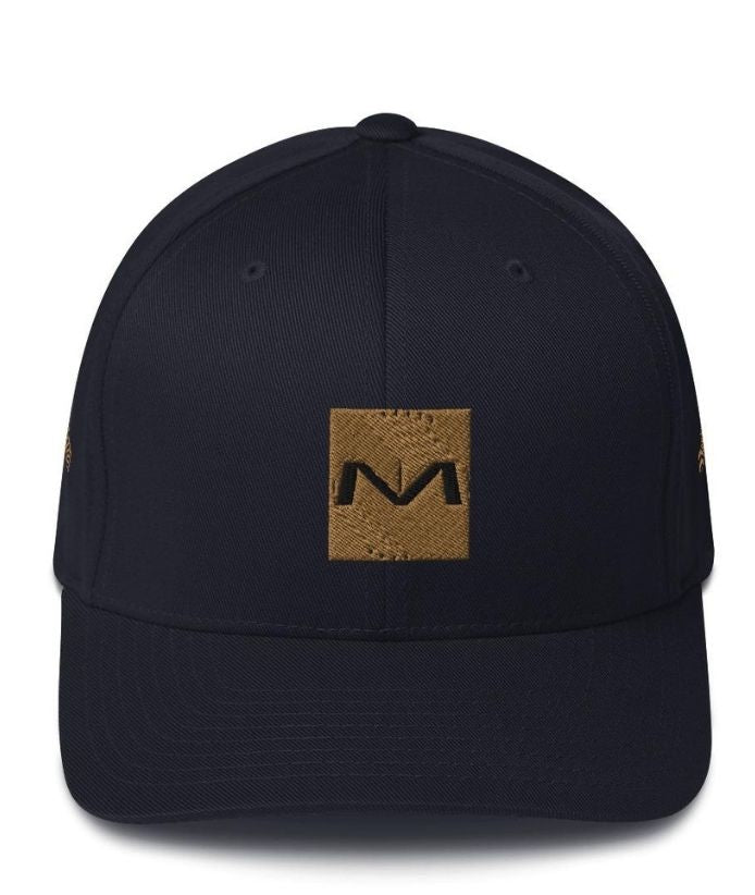 "MOLIAE ""Aspu Rising"" Structured Twill Cap"
