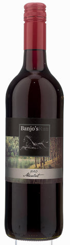 Banjos Run - Merlot 2013