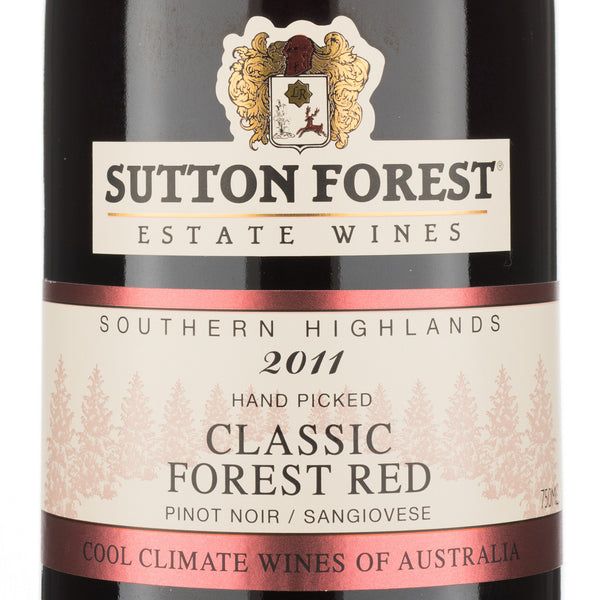 Sutton Forest Wines - Classic Forest Red 2013 (Pinot Noir + Sangiovese)