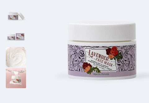 lily ana naturals lavender face mask