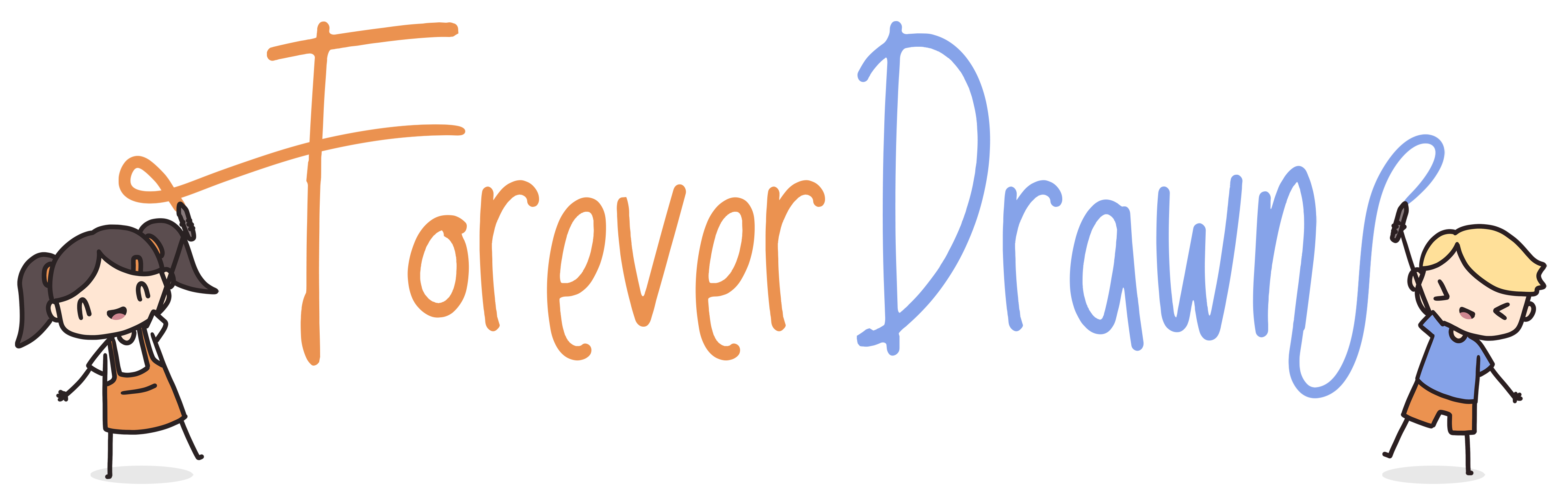 forever drawn logo