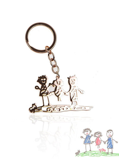 IMAGE PRODUCT KEYCHAIN - Forever Drawn