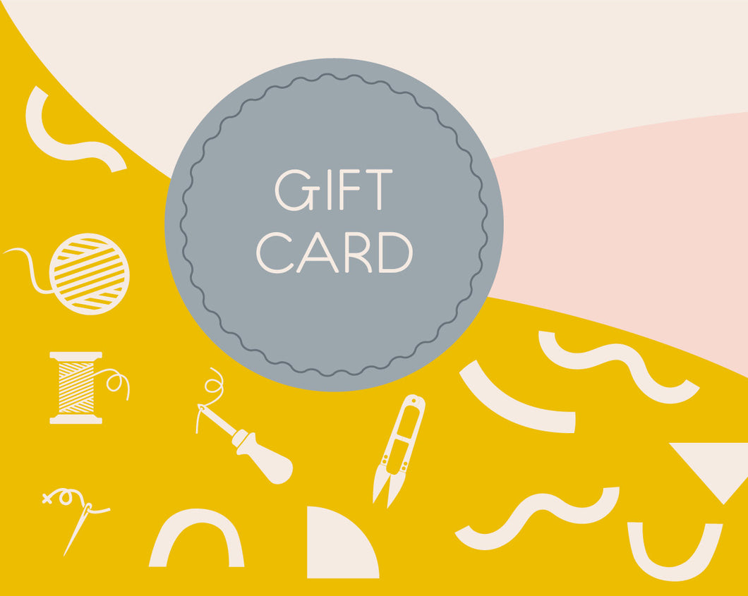The Modern Crafter Gift Card