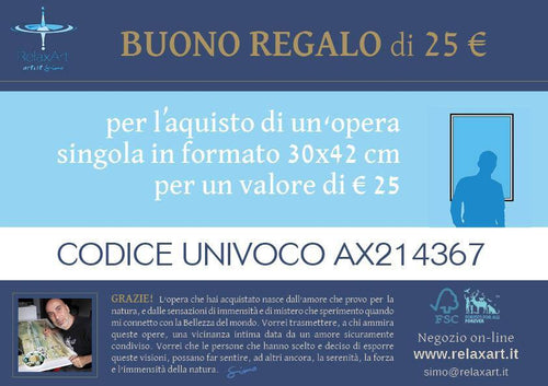 BUONI REGALO - relaxart.it
