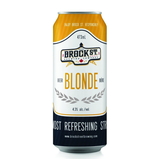 Brock St Blonde Ale - 473ml (6 Pack)