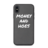 Money and Hoes biodegradable iPhone case