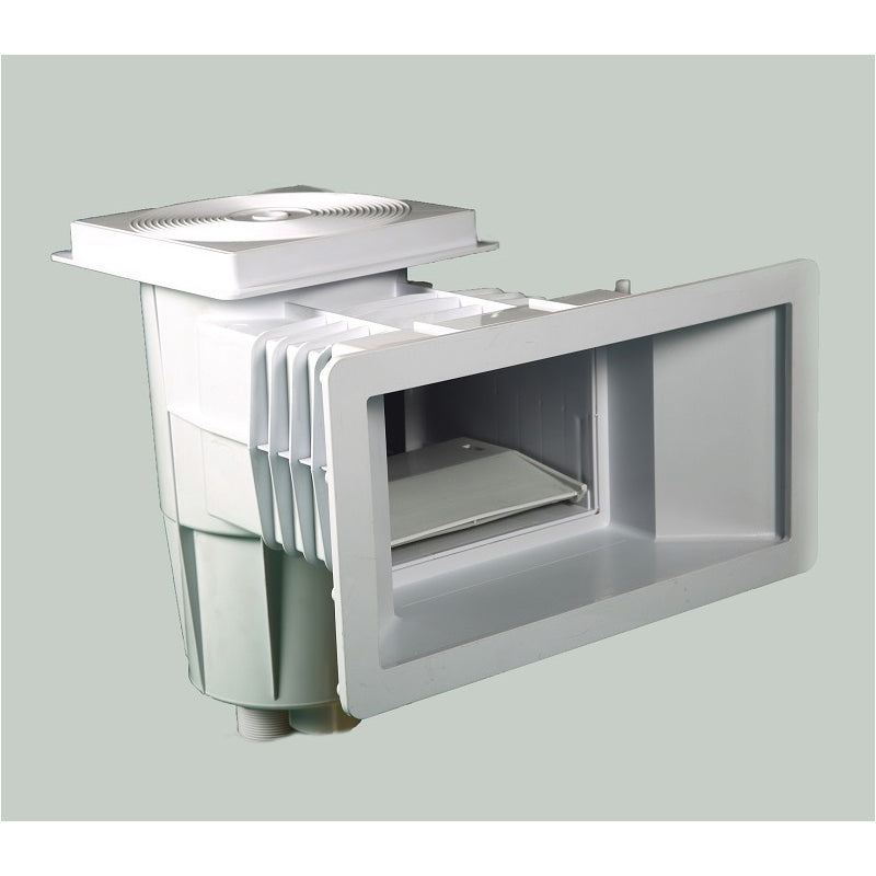 Square Frame and Round Lid  ABS Skimmer for Concrete Pool