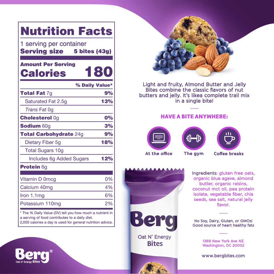 Berg Bites - Box of 8