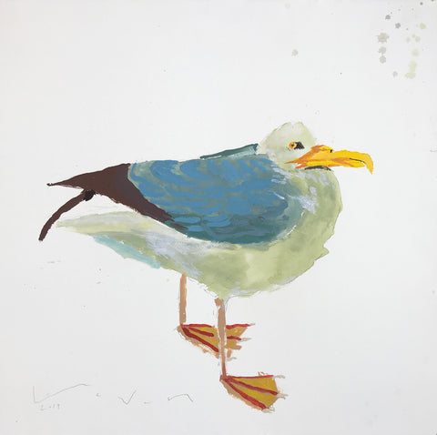 Seagull for Karin 21x21