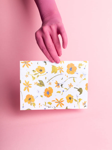 vintage flowers // notecard set