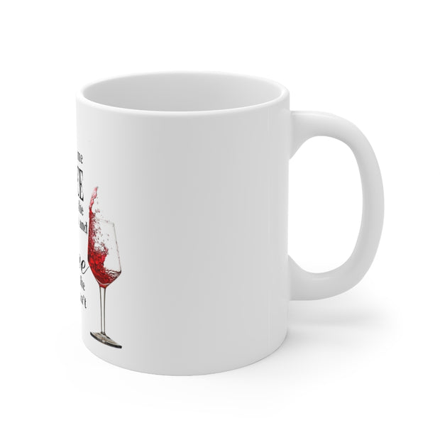Coffee & Wine Ceramic Mug 11oz