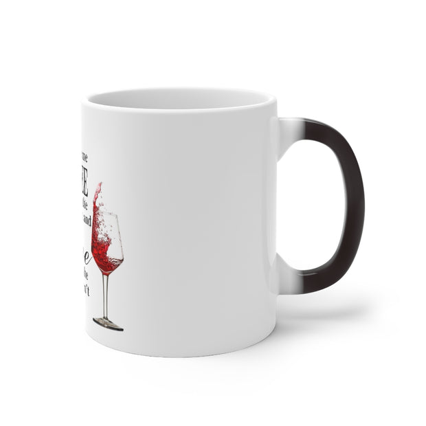 Coffee & Wine Color Changing Mug