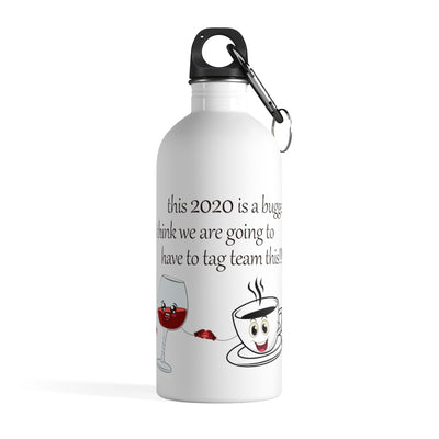 2020 Is A Bugger Stainless Steel Water Bottle