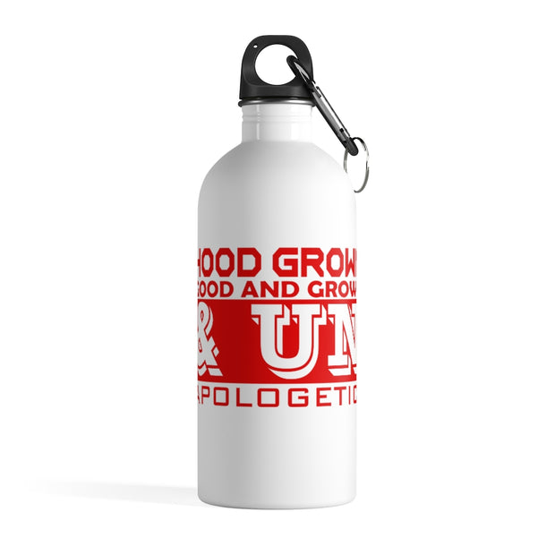 Hoodgrown Unapologetic Stainless Steel Water Bottle