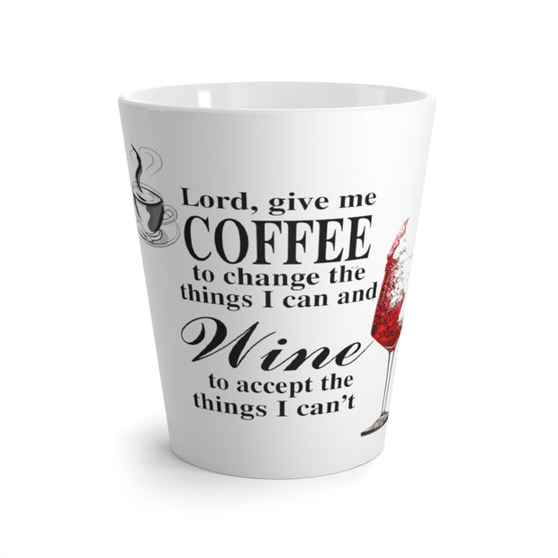 Coffee & Wine Latte Mug
