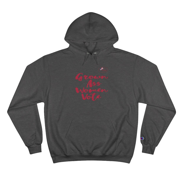 Grow Ass Women Vote Red Design Women Hoodie